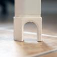 Download free 3D printing templates IKEA Bekant Desk Foot, Brignetti_Longoni