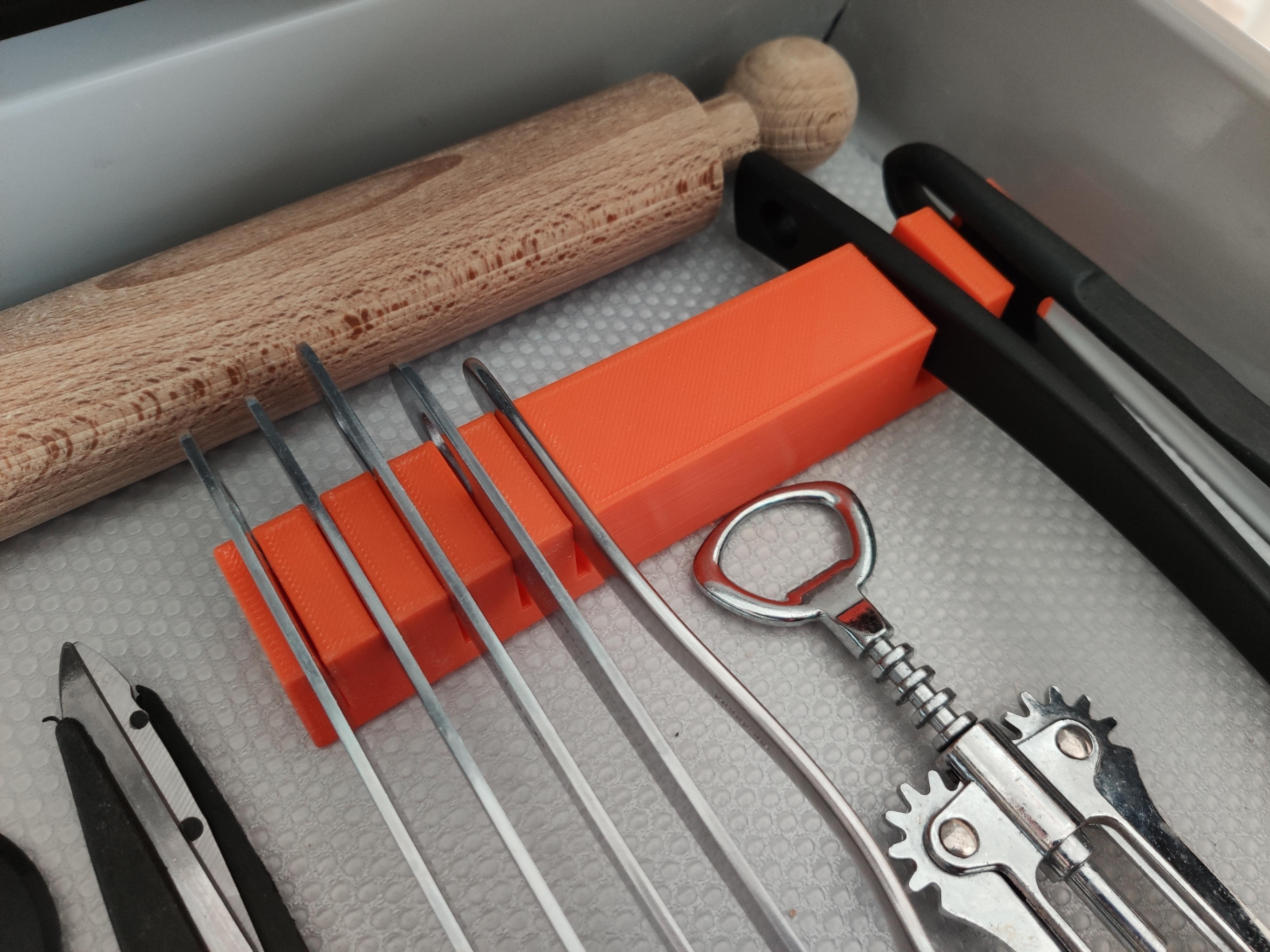 IMG_20190906_143552.jpg Download free STL file Kitchen Drawer Organizer • 3D printing template, Brignetti_Longoni