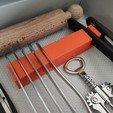 Download free 3D printing models Kitchen Drawer Organizer, Brignetti_Longoni