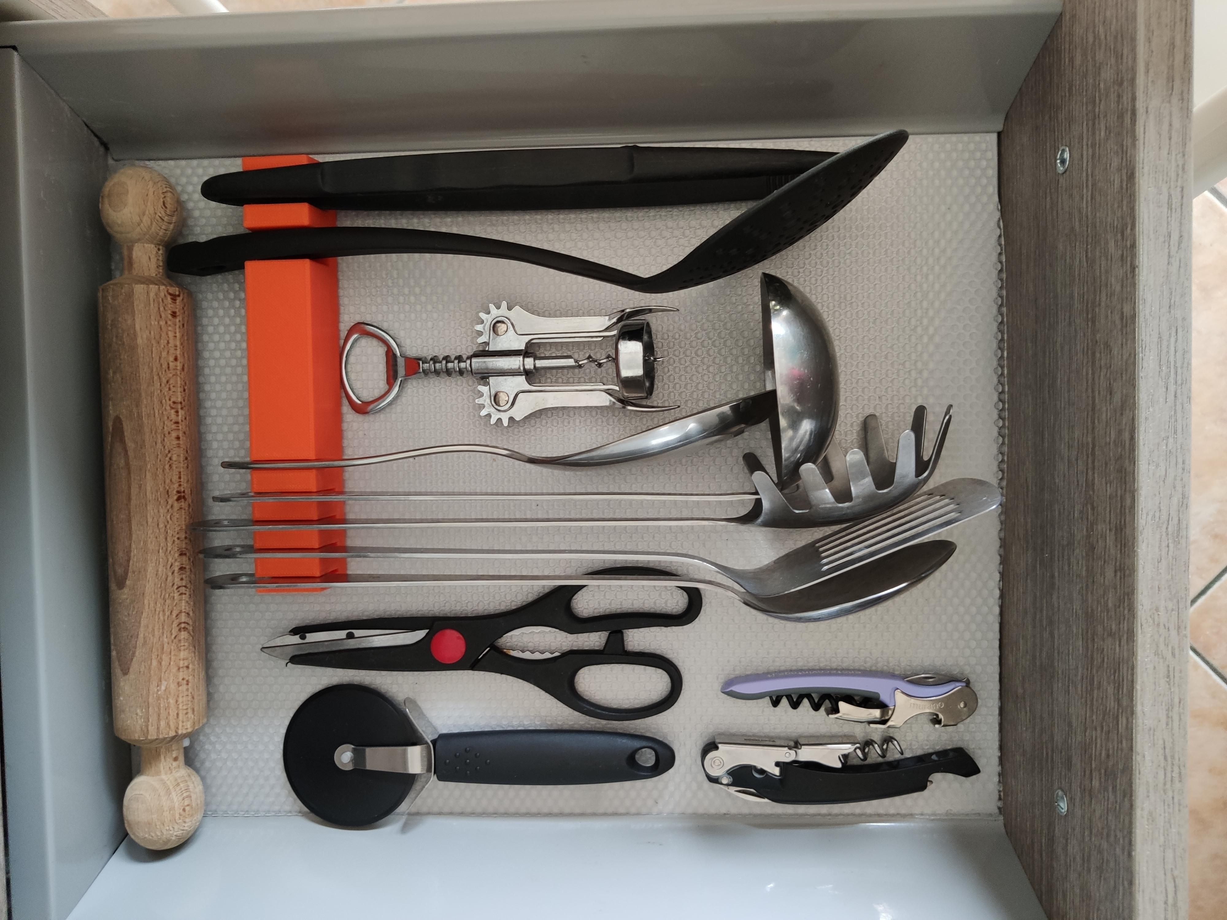 IMG_20190906_143527.jpg Download free STL file Kitchen Drawer Organizer • 3D printing template, Brignetti_Longoni