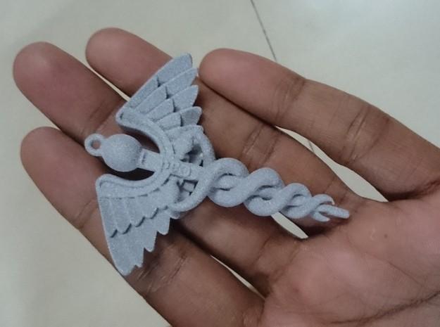 Caduceus .012.jpg Download OBJ file Caduceus • 3D printable template, Cadiaan