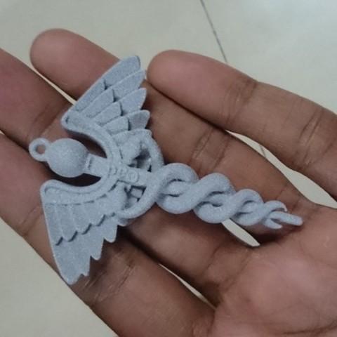 Imprimir en 3D Caduceo, Cadiaan
