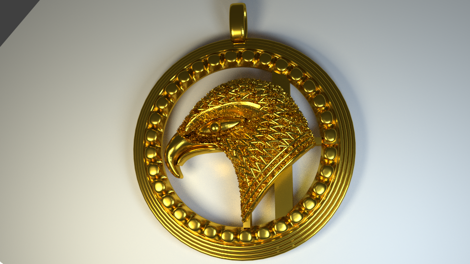 Eagle_Batch_28 Aug _Render.png Download STL file The Thunder Bird. • Template to 3D print, Cadiaan