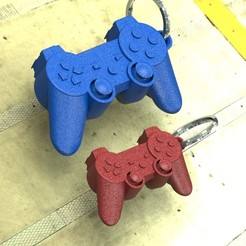 deux modele usi.JPG Télécharger fichier STL Porte clef manette Playstation • Plan imprimable en 3D, gauducheau