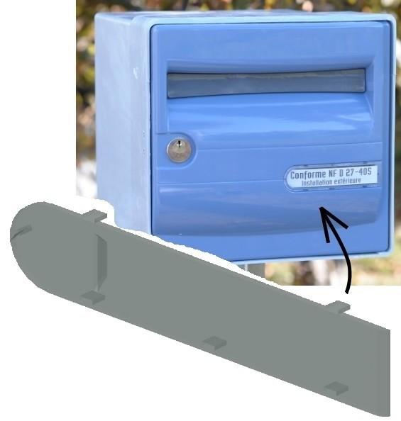 PLAQUE BAL Fr.jpg Télécharger fichier STL gratuit Cache Transparent Nom sur Boite aux Lettres Standard France • Objet imprimable en 3D, LAFABRIK3D