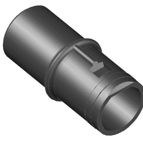 embout lg.jpg Download free STL file LG Kompressor Vaccum Tip Adapter • 3D print design, LAFABRIK3D