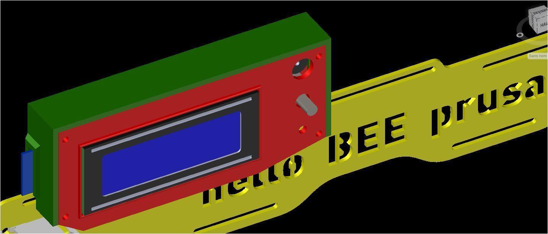 Box Lcd Ramp1-4 sur Hello Bee Prusa - P1.JPG Download free STL file Box Lcd Ramp 1.4 - Hello Bee Prusa and Other Models • 3D printable design, LAFABRIK3D