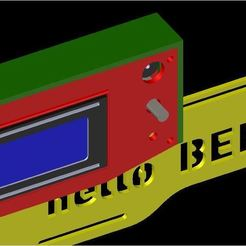 Download free 3D printing models Box Lcd Ramp 1.4 - Hello Bee Prusa and Other Models, LAFABRIK3D