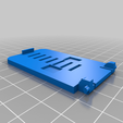 Download free 3D printing designs Easy to carry and use pocket size phone holder., Celebi