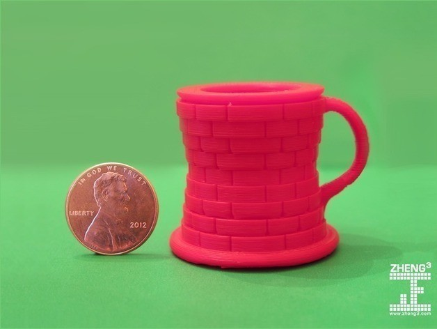 tankard_masonry_display_large_preview_featured.jpg Download free STL file Seej Tenpenny Tankard • 3D printable template, Zheng3