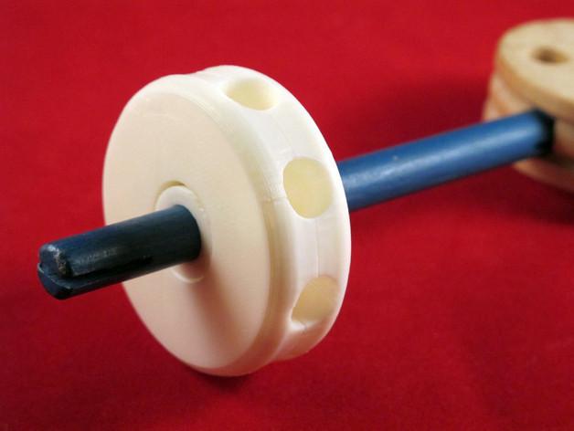 1.jpg Download free STL file Tinkeriffic BB Bearing • 3D printer design, Zheng3