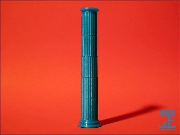 column2_preview_featured.jpg Download free STL file Seej Column, Fluted • 3D printable template, Zheng3