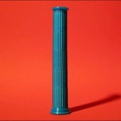 Download free 3D printer templates Seej Column, Fluted, Zheng3