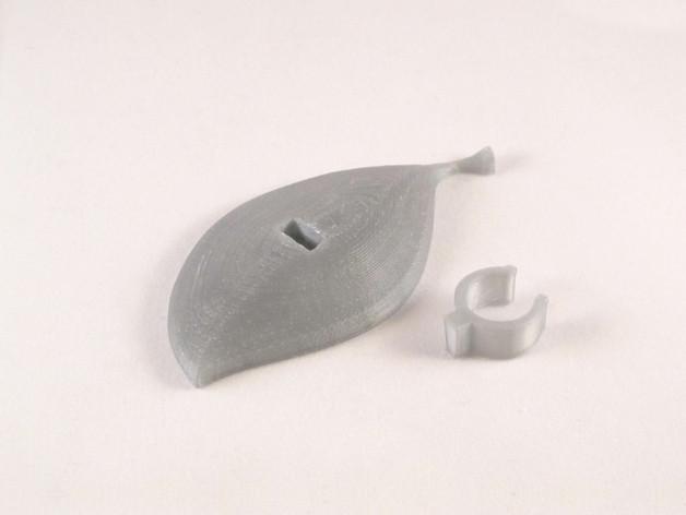 clip_2_preview_featured.jpg Télécharger fichier STL gratuit Nissan Leaf Charging Cable Clip • Design imprimable en 3D, Zheng3