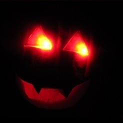 Download free STL files Hack-O-Lantern LED Diffuser, Zheng3