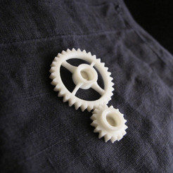 Free 3d printer designs Semi-Formal Pocket Gear Train, Zheng3