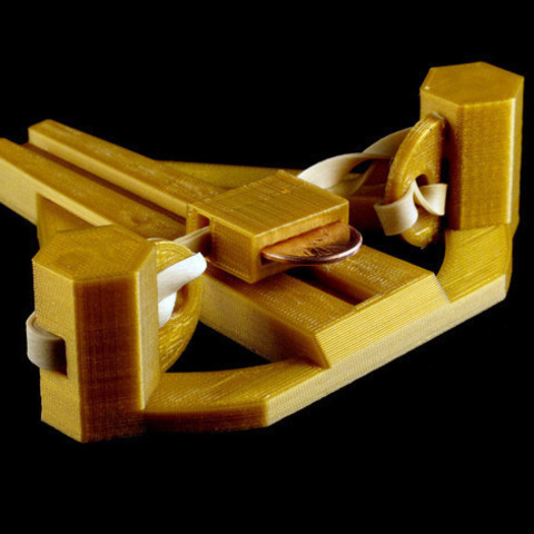 Download free 3D printing designs Zheng3 Short Stock Penny Ballista, Zheng3