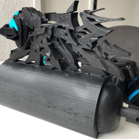 Download 3D printing files Graff wase bomb, july94