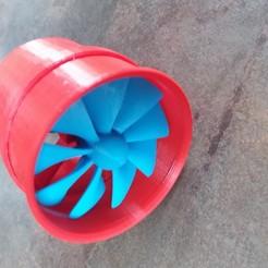 Descargar modelo 3D gratis Turbina eléctrica V2, nino