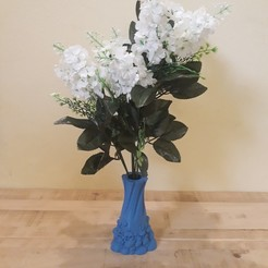 stl Decorative Pebbles Vaze, Zuk