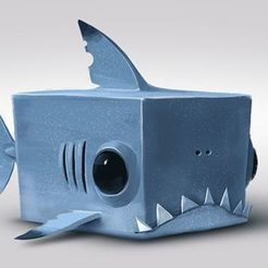 Télécharger fichier 3D gratuit Sharky, alexsaha