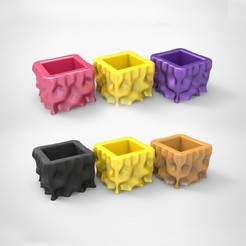 z1.jpg Download STL file Flower Pot No.01 • 3D printer design, alexsaha