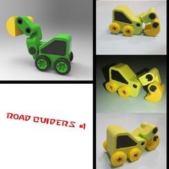 Download free 3D printing models Roadmakers 1, alexsaha