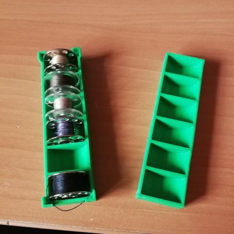 Free 3d model bobbin case, plok21