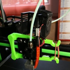 Free 3D printer files tool for setting up the anet e10 print head carriage, plok21
