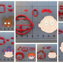 1595627279119738.JPG Download STL file KIT COOKIE CUTTERS RUGRATS (KIT DE CORTADORES OS ANJINHOS) • 3D printable design, ramonxxl