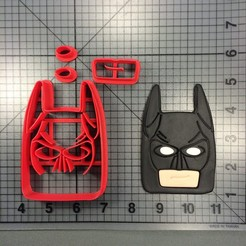 Download STL files BATMAN LEGO COOKIE CUTTER (CORTADOR BATMAN LEGO MODULADO), ramonxxl
