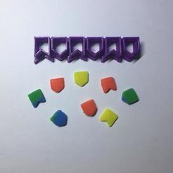 Download 3D printing designs June flags Cookie Cutter  (Bandeirinhas Festa Junina), ramonxxl