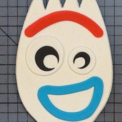Download 3D model Forky Toy Story Cookie Cutter (Garfinho Toy Story Cortador de Biscoito), ramonxxl