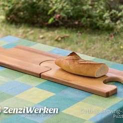 Télécharger fichier 3D gratuit Planche à découper de service cnc, ZenziWerken