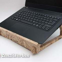 Download free 3D printing models Flexible Interlocking Laptop Stand cnc, ZenziWerken