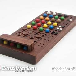 Download free 3D printer templates WoodenBrainMaster (cnc), ZenziWerken