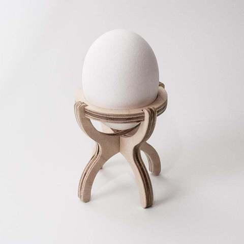 Descargar archivos 3D gratis Porta huevos 4 puntos, ZenziWerken