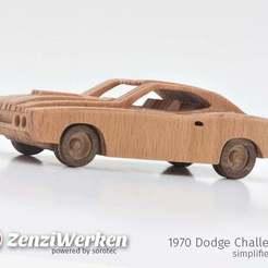 Télécharger fichier STL gratuit Dodge Challenger 1970 à commande numérique simplifiée, ZenziWerken