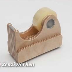 Plan imprimante 3D gatuit Distributeur de ruban adhésif cnc/laser, ZenziWerken