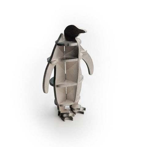 Fichier imprimante 3D gratuit Pingouin 3D-puzzle cnc/laser, ZenziWerken
