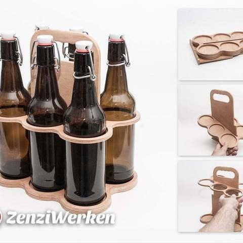 Fichier 3D gratuit Casier à bière plat cnc/laser, ZenziWerken