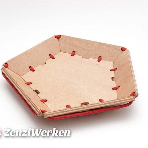 Plan imprimante 3D gatuit Corde à facettes Candybowl cnc/laser, ZenziWerken