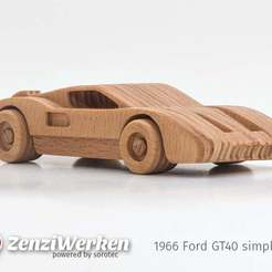 c6387e4c00747ea19e796c68c85757dc_display_large.jpg Download free STL file 1966 Ford GT40  simplified cnc/laser • 3D printer object, ZenziWerken