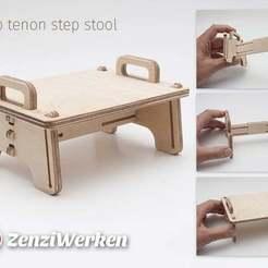 Télécharger fichier STL gratuit Clip Tenon Tabouret marchepied cnc, ZenziWerken