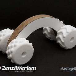 Descargar archivo STL gratis MassageRoller (cnc + fdm) • Plan para la impresión en 3D, ZenziWerken
