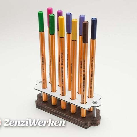 Modèle 3D gratuit Stabilo Stand (porte-stylo), ZenziWerken