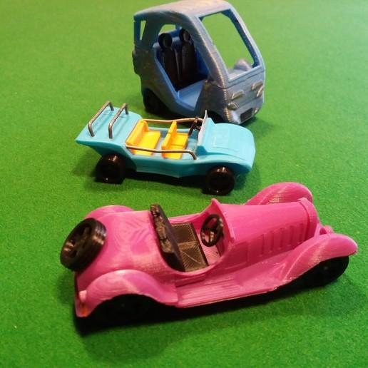 bugatti, buggy, reine.jpg Download STL file Bugatti typ 55 • Object to 3D print, gerbat