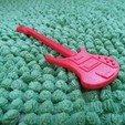 Impresiones 3D gratis Rickenbacker de la guitarra baja, gerbat