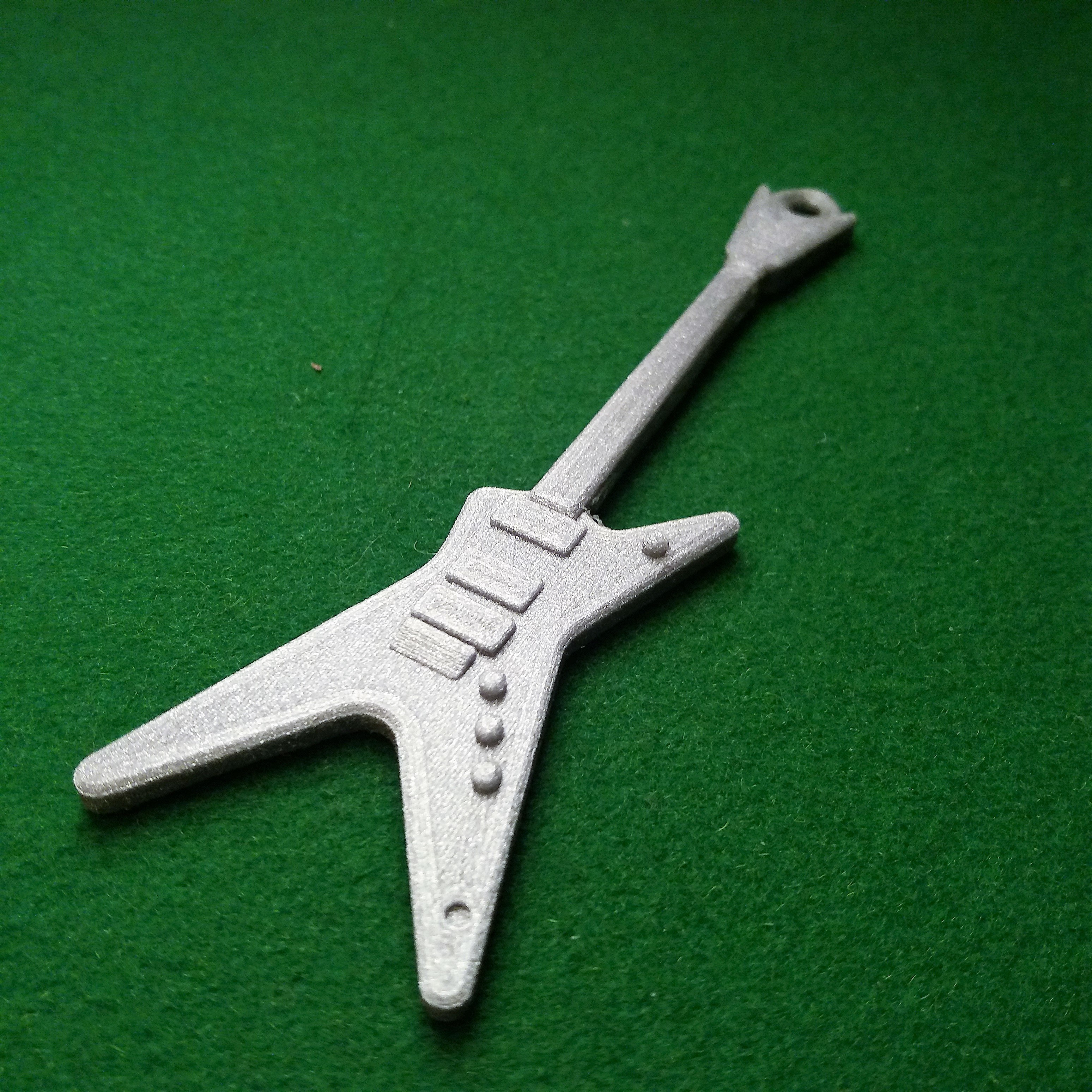 Dean dimebag darrell3.jpg Download free STL file Dean guitar dimebag darrell • Object to 3D print, gerbat