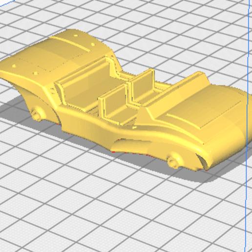 avec les chaises.png Télécharger fichier STL  Buggy,  • Plan imprimable en 3D, gerbat